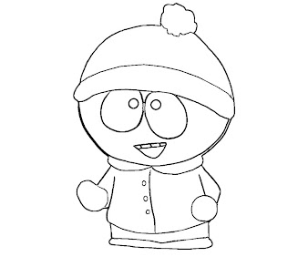 #2 Stan Marsh Coloring Page