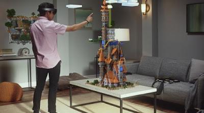 Minecraft, Hololens, 3D, Realidad Aumentada, E3