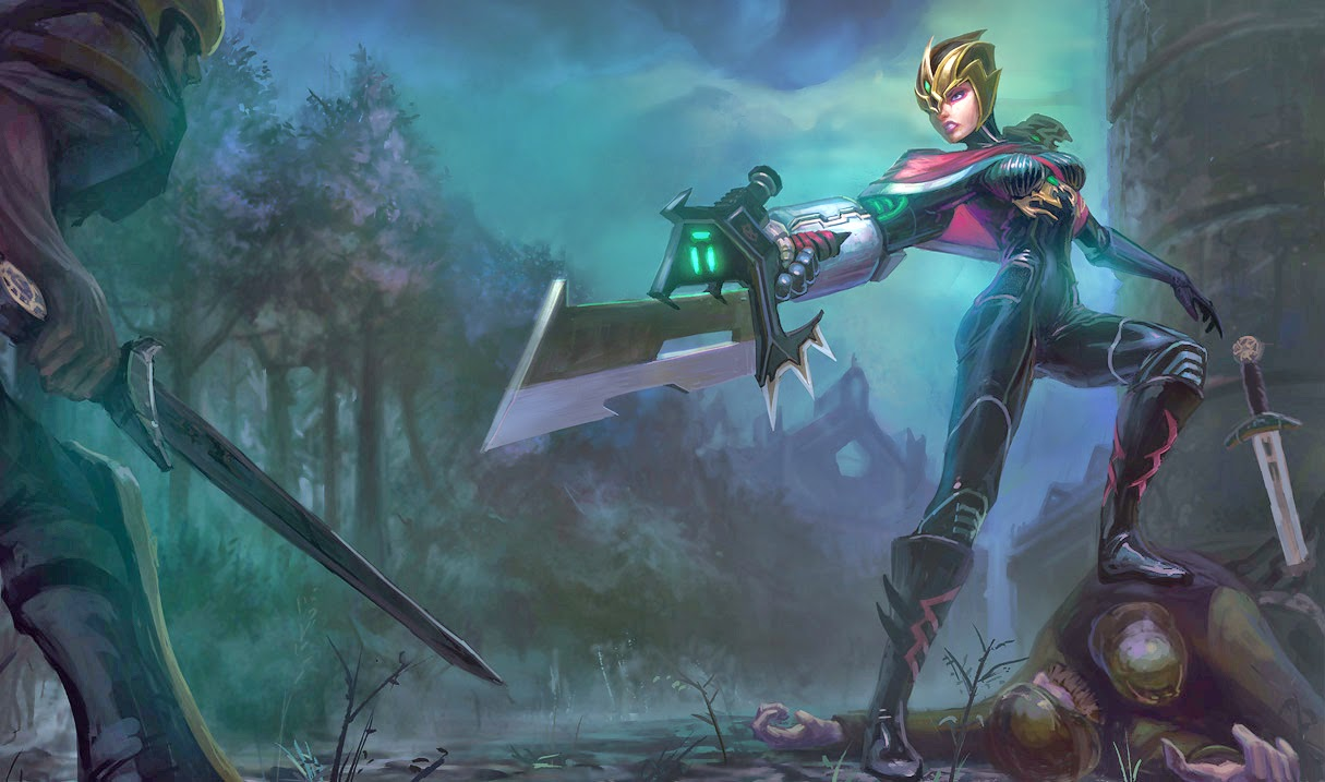 Crimson Elite Riven ~ Wallpaper - LOL