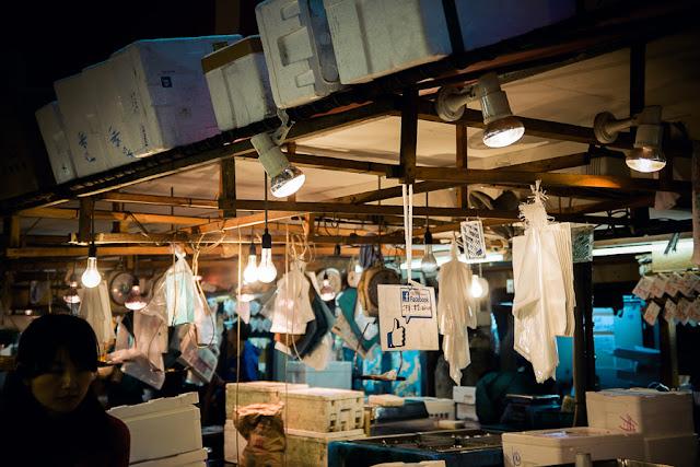 Tsukiji Fish Market Japan Fuji X100S