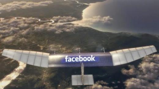 facebook ciptakan drone untuk akses internet daerah terpencil, Jokowi bertemu bos facebook bicarakan drone