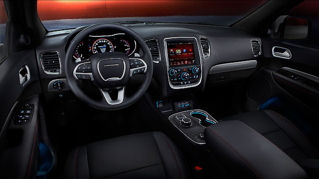 The New 2014 Dodge Durango dash