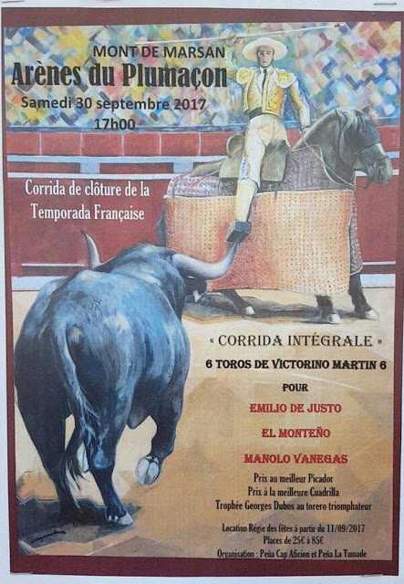MONT DE MARSAN (FRANCIA) 30-09-2017.