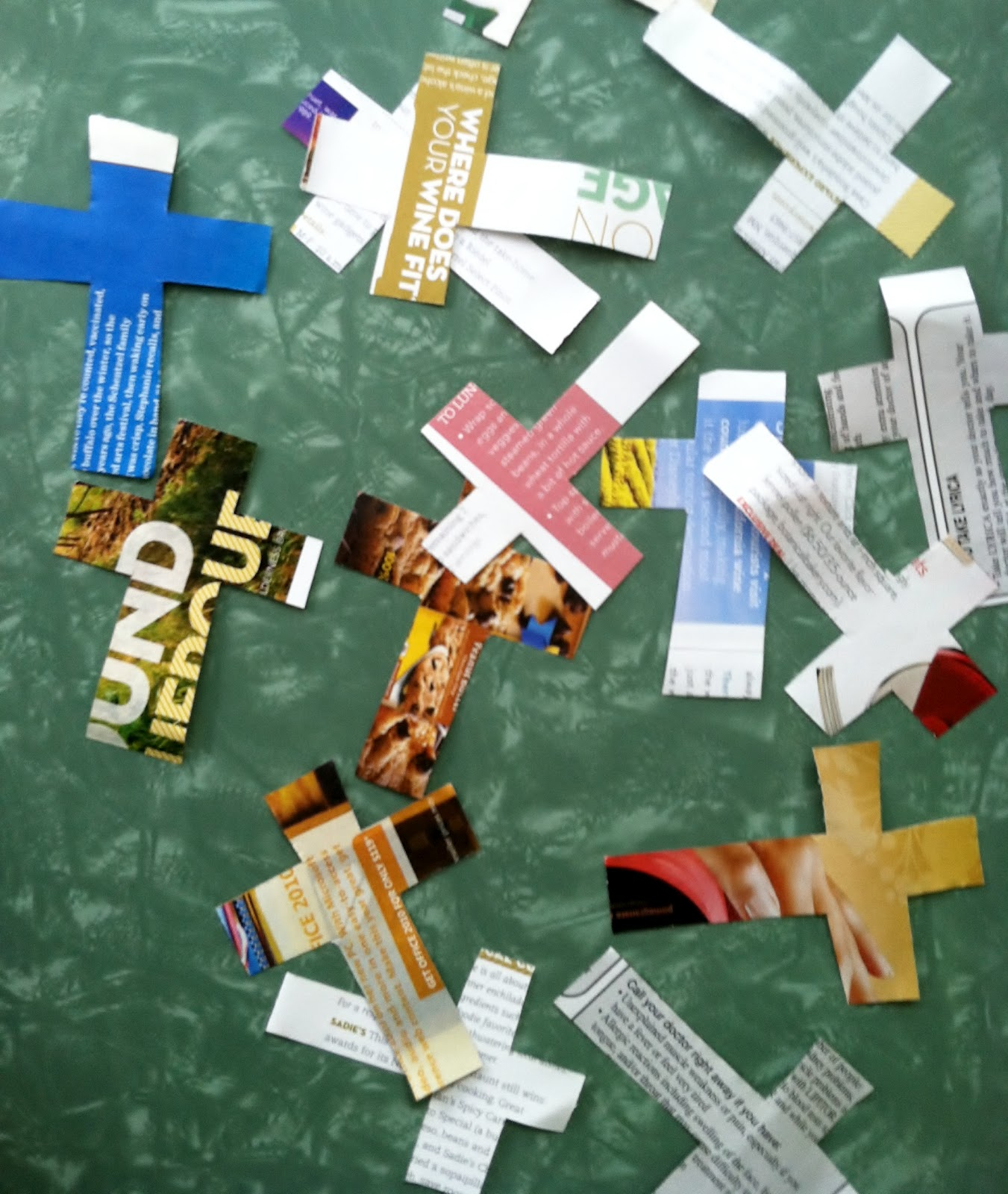 The Crosses Were Well Received Who Wouldnt Love A Drool Covered Paper Cross From Sweet Little Tot Out Ones Learned That Paul And Barnabas Told