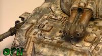 Efecto de desgaste en vehículos militares