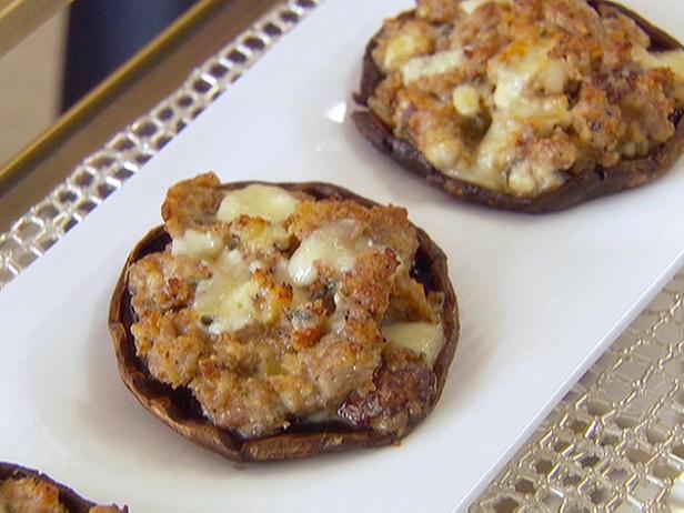 Photo: Grilled and Stuffed Portobello Mushrooms with Gorgonzola Recipe