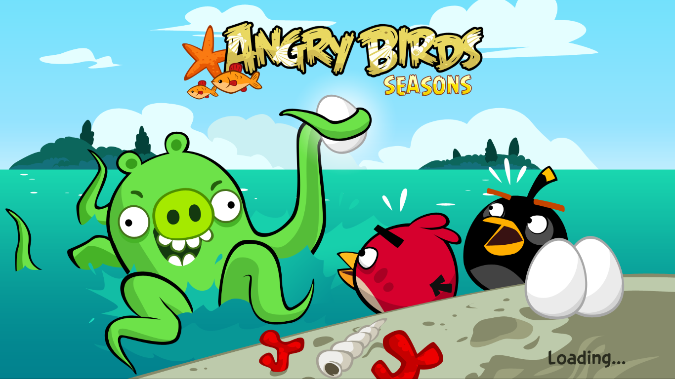 Angry Birds Seasons 2.4.1 new version Free download Full version