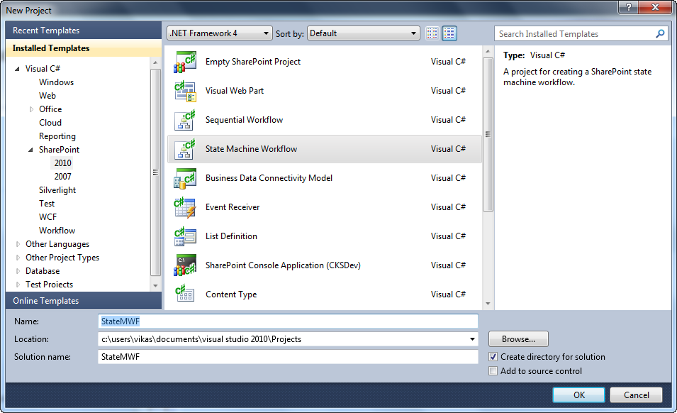 Sharepoint shell creating sharepoint state machine for Sharepoint workflow templates download