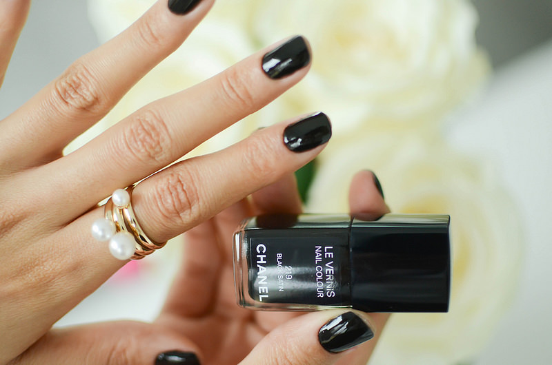 Chanel Nail Polish Matte Black - Creative Touch