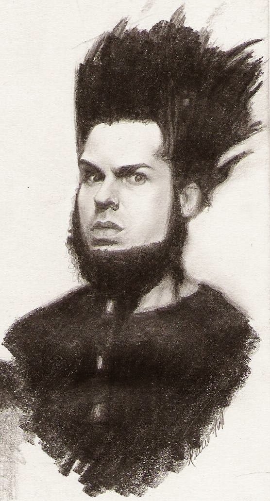 Wayne Static drawing