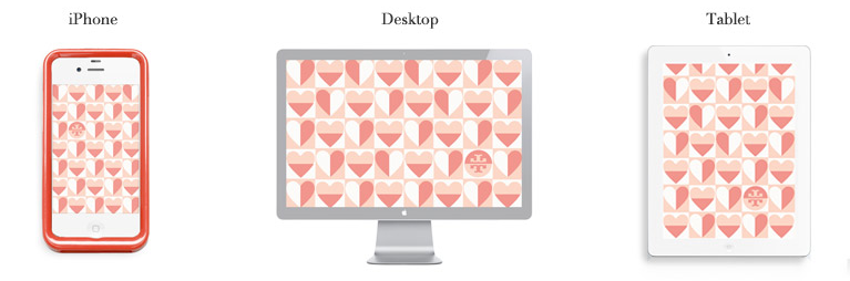 tory burch heart wallpaper - photo #24