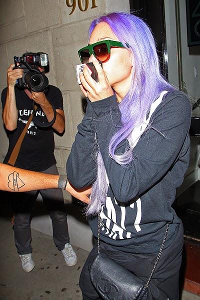 Amanda Bynes dyed her hair