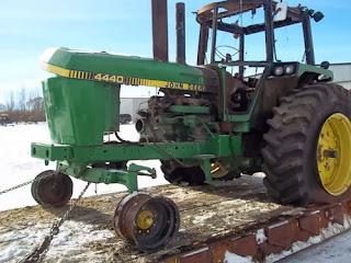 John Deere 4440 tractor parts