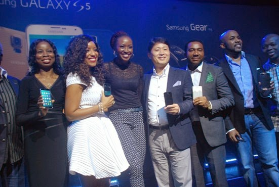 Banky W, Kate Henshaw, Joselyn Dumas, Others At Samsung S5 Launch – Photos