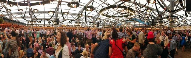 Inside Schottenhamel - sometime in the afternoon, Oktoberfest Munich 2013