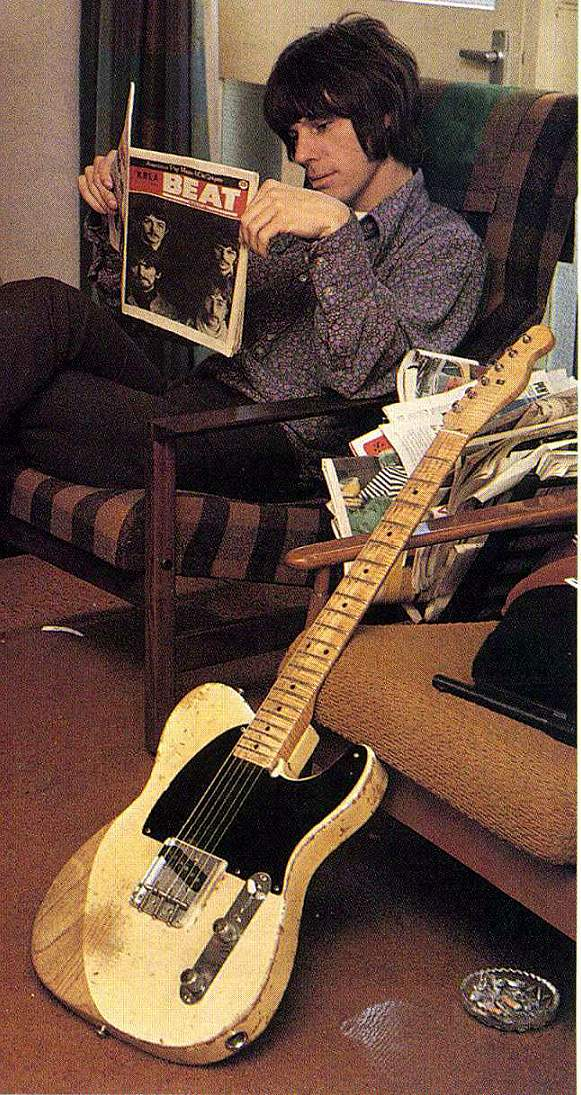 Jeff Beck 1954 Fender Esquire | Iconic Axes: The Instruments Used By ...