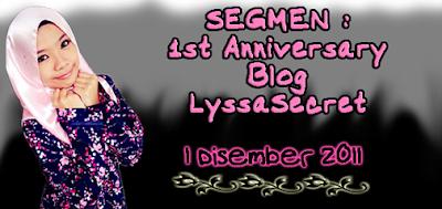 SEGMEN | 1st Anniversary Blog Lyssasecret