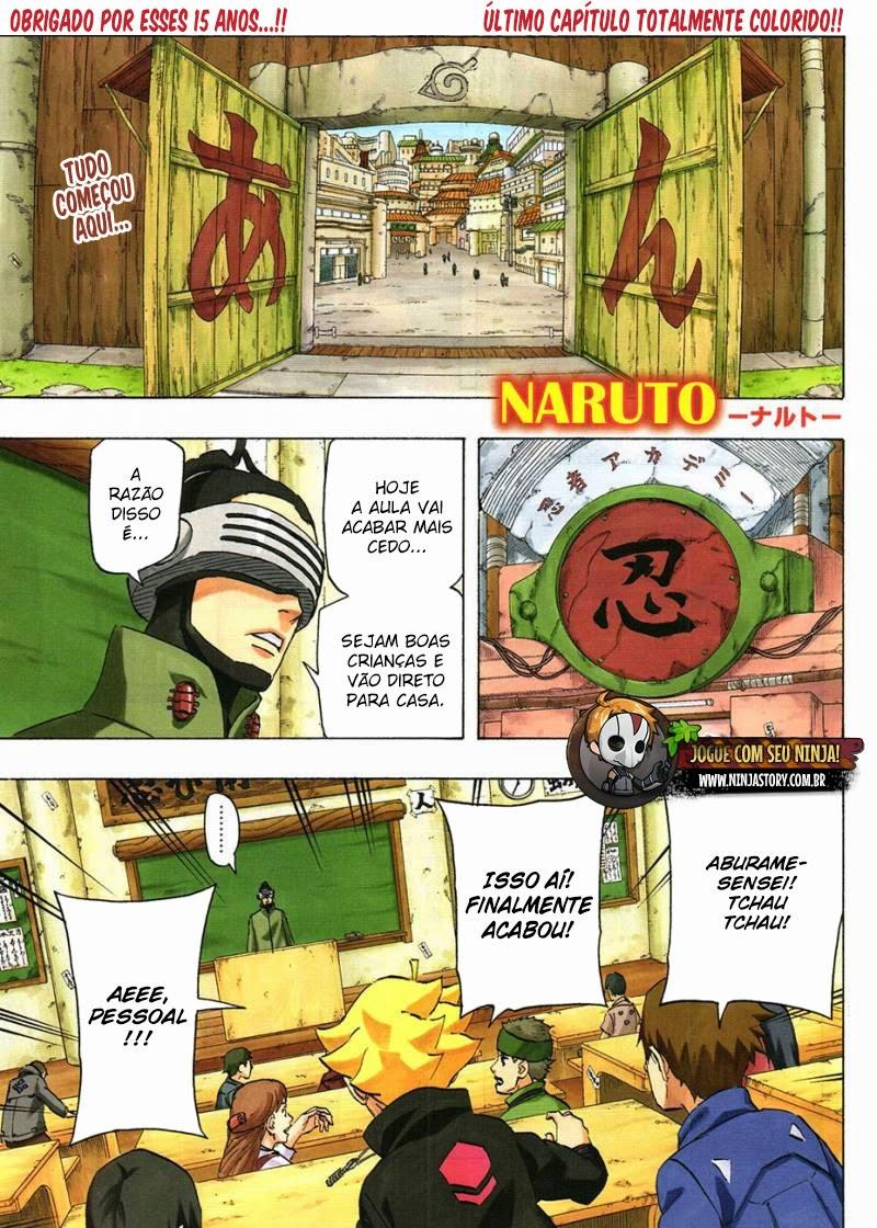 Naruto 700 Português Mangá leitura online capitulo final
