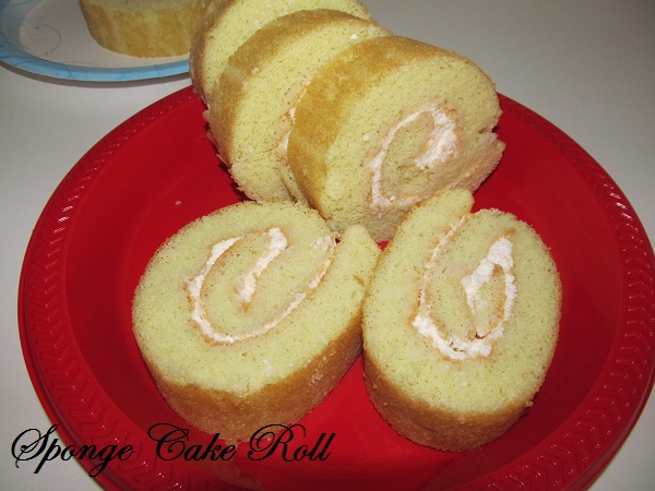 My 150th post and A  Sponge Cake Roll !!!!!