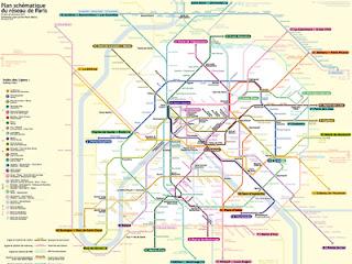 In Parijs kun je het beste met de metro reizen