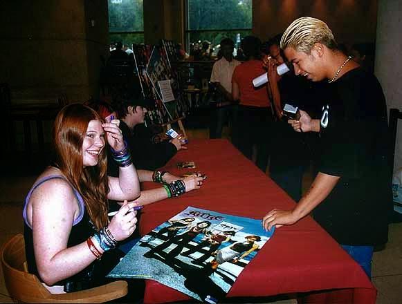 Kittie autographs