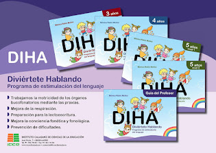 PROGRAMA DE ESTIMULACIÓN DEL LENGUAJE DE 3-6AÑOS.         DIVIÉRTETE HABLANDO