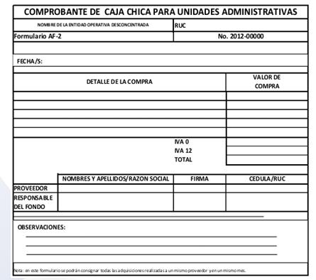 """BURÓ TRIBUTARIO ®: AUTORÍZASE EL FORMULARIO AF-2 """"COMPROBANTE DE ..."""