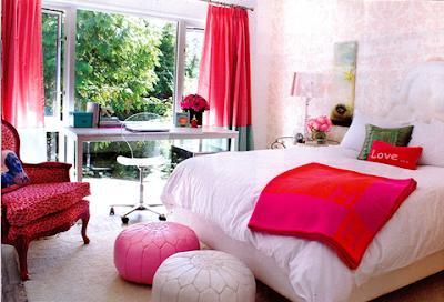 Dormitorios de chicas adolescentes