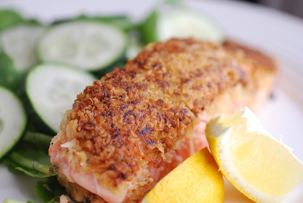 Panko recipes for salmon