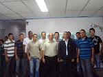 O Sgt. Ricardo em reunião com os cabos e soldados aprovados do CFS/2011/PMPE/CBMPE NA GICAPE/SDS