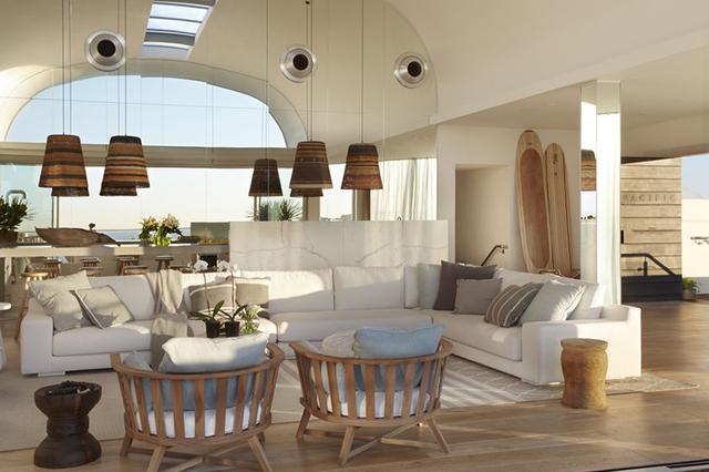 interior áticos de lujo