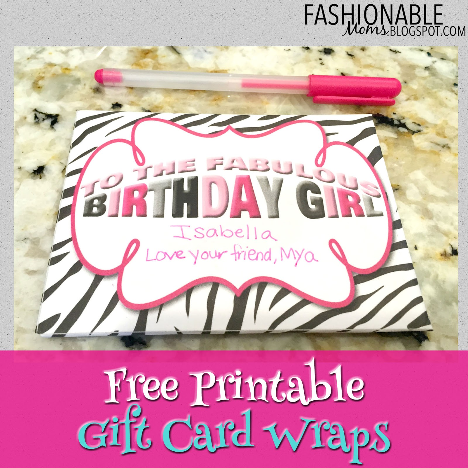 My fashionable designs july 2015 free printable gift card wraps 8 designs xflitez Image collections