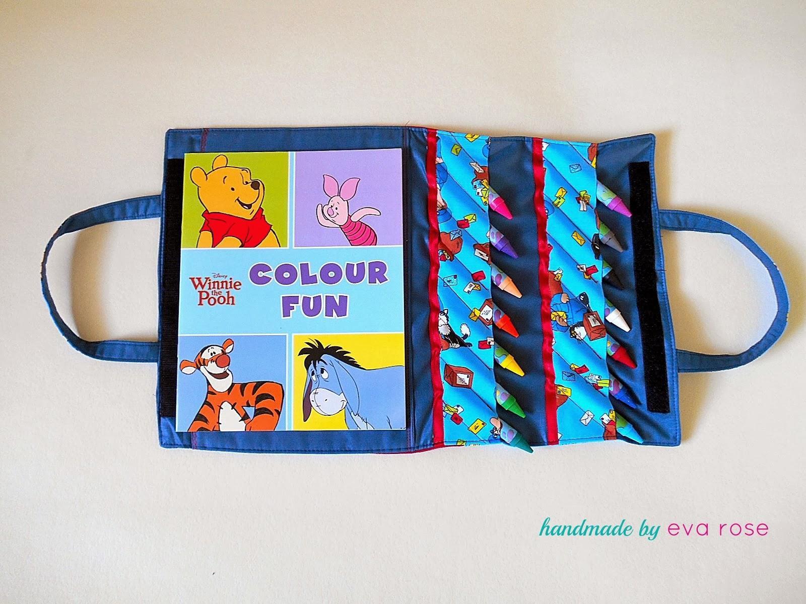Kids Art Bag Tutorial