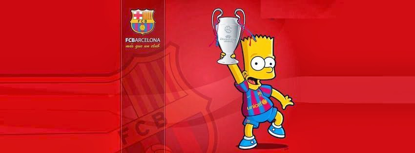 Couverture facebook FCbarcelone