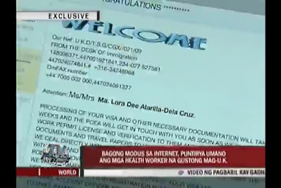 Email Scam Targeting Caregivers and Registered Nurses | POEA Warning