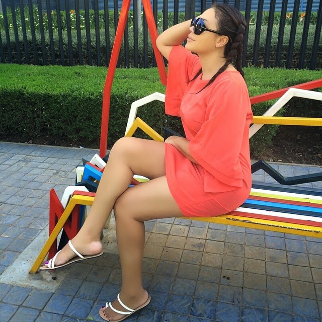 Photos: Nadia Buari Shows Off Her Hot Legs