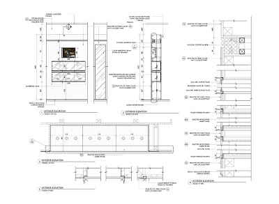 Design Drawings vs Construction Drawings Millwork Details