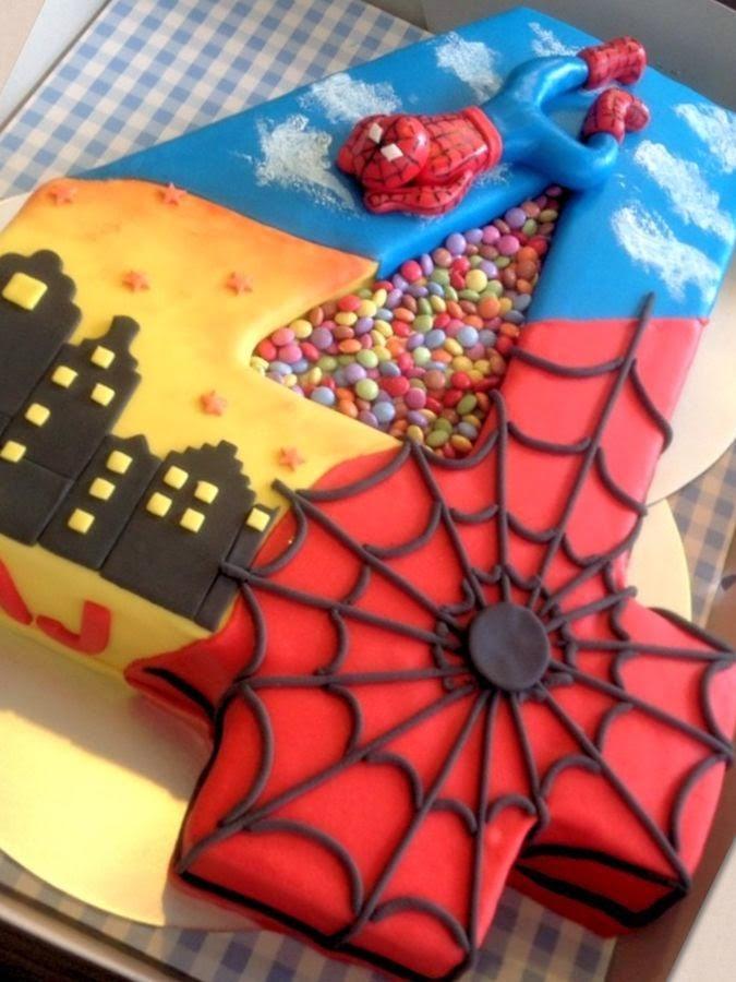 Tortas Decoradas para Fiesta Infantil de 4 Años