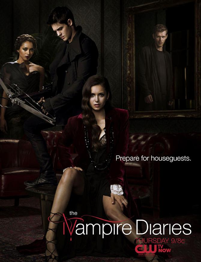 Vampire Diaries Netflix Poster Revista Movie in Serie...