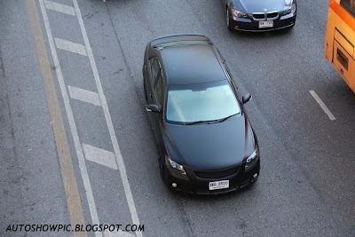 Matte Black Toyota Camry