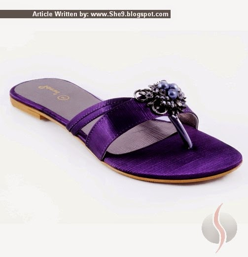 Gul-Ahmed Fancy Shoes Collection for Girls
