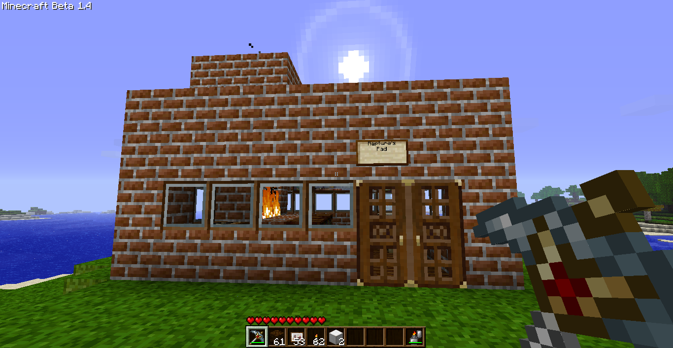 how to make a pet house in minecraft