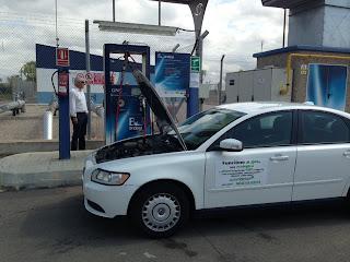 Un Volvo S40 transformado a GNC en Gasmocion, ya circula por Mallorca