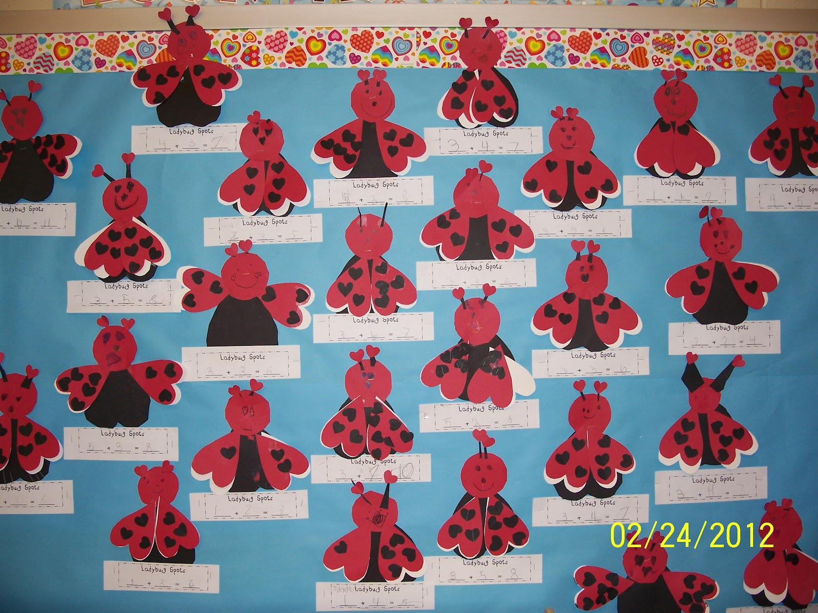 Mrs. Egley\'s Kindergarten: Ladybug Math