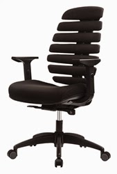 Eurotech FX2 Open Back Chair in Black