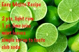 easy mojito recipe