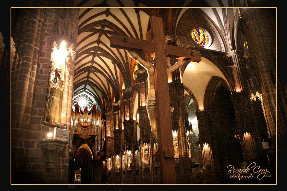 Jaime ramos m ndez interior del santuario guadalupano de for Catedral de zamora interior
