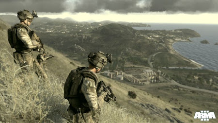 Screen Shot Of Arma 3 Alpha (2013) Full PC Game Free Download At Downloadingzoo.Com