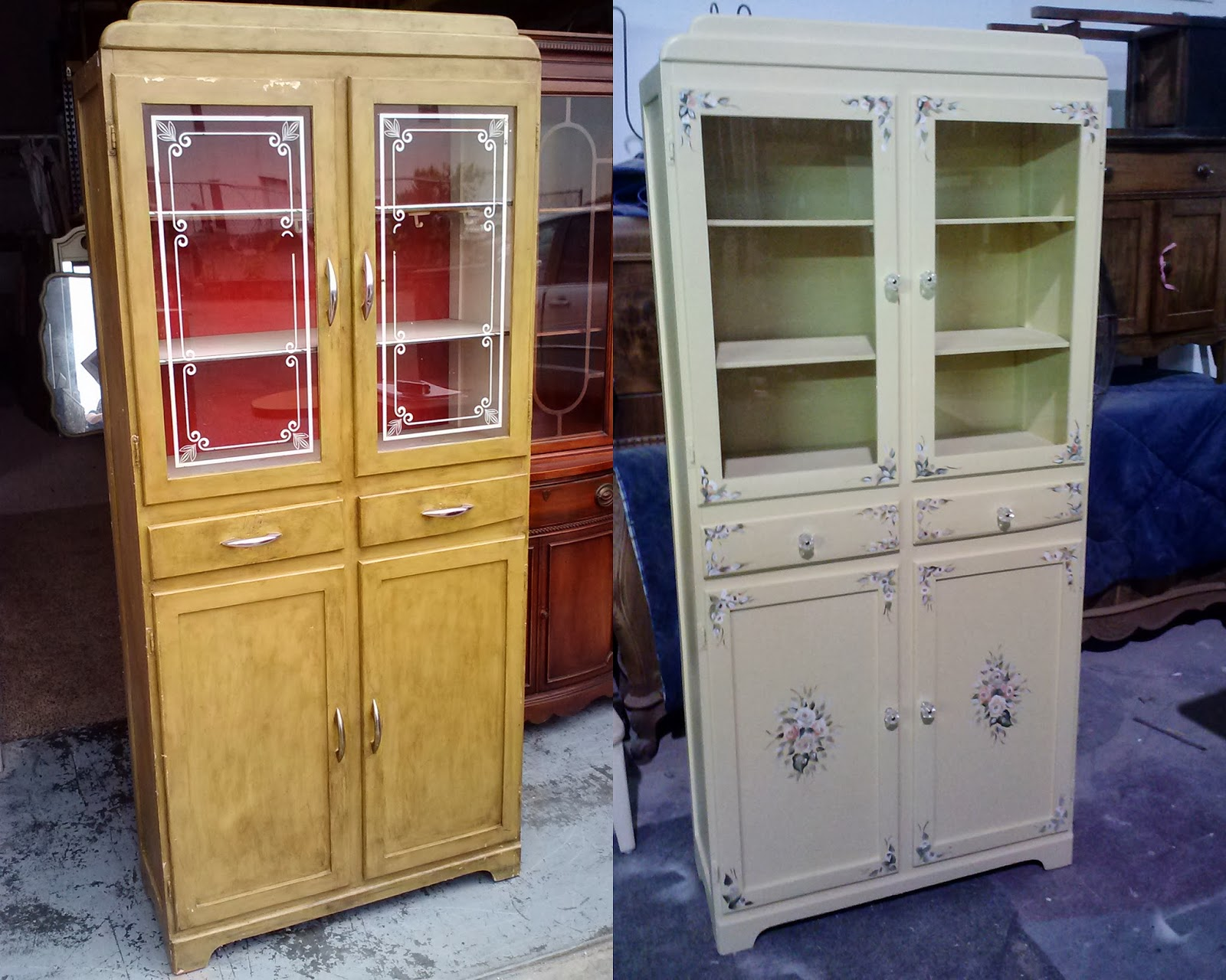Transformations, Vintage Painted Shabby Chic Furniture