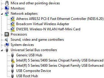 Os dispositivos marcados com o triângulo amarelo tem algum tipo de problema